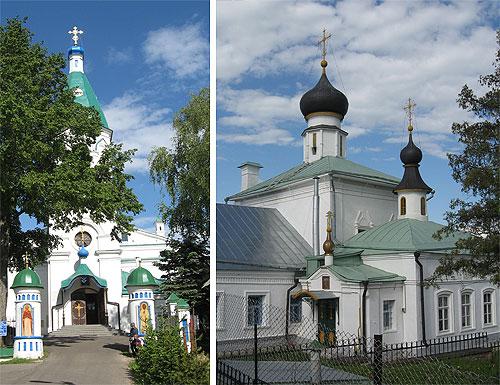 Волоколамские церкви. Покрова Пресвятой Богородицы и Рождества Пресвятой Богородицы