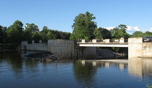 Гидроэктростанция на реке Ламе