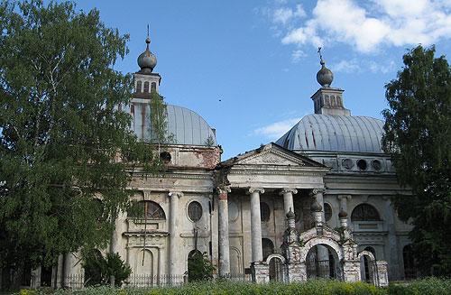 Церковь Казанской божией матери. Усадьба чернышовых. Ярополец