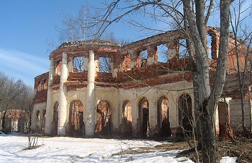 Дворец Голицыных в Самуйлове